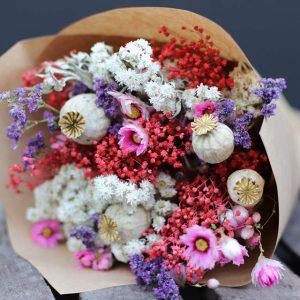 Adalyn Misty Bouquet de fleurs séchées