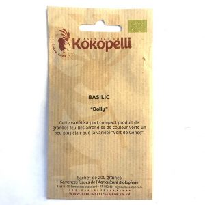 Graines Basilic Dolly 0.01