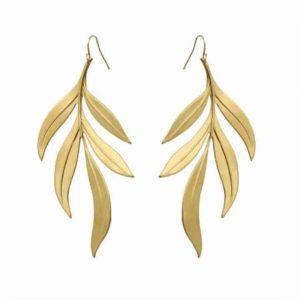 Boucles d'oreilles Lali plaquées or