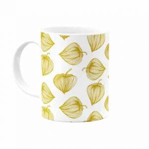Mug Fleurs Dorées