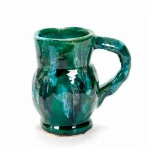 Vase à eau en céramique verte de Serax