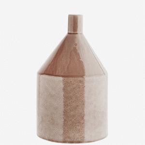Vase en grès Caramel clair