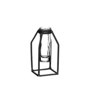 Vase DHAKA Noir
