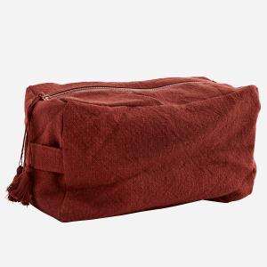 Trousse de toilette Coton rouge grange
