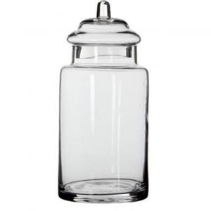 Bocal Zita verre transparent